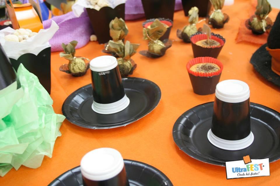 Mesa Decorada Halloween by Ultrafest