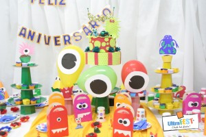 Mesa Decorada Ultrafest