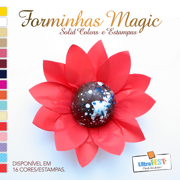 Forminha Decorativa Magic Ultrafest